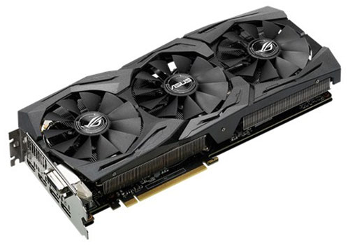 asus geforce gtx 1060 strix gaming 6 go oc