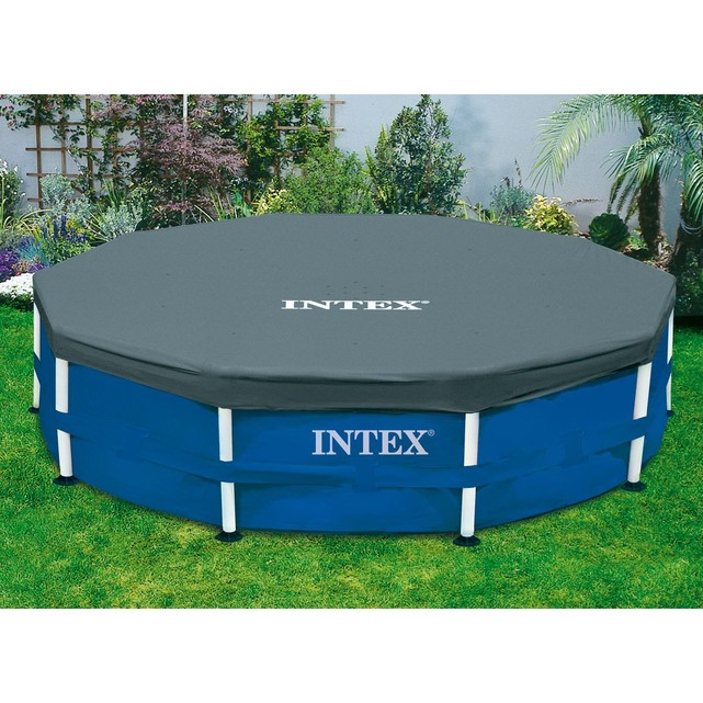 bache de protection piscine intex
