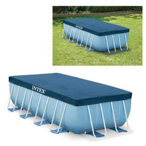 bache piscine rectangulaire intex