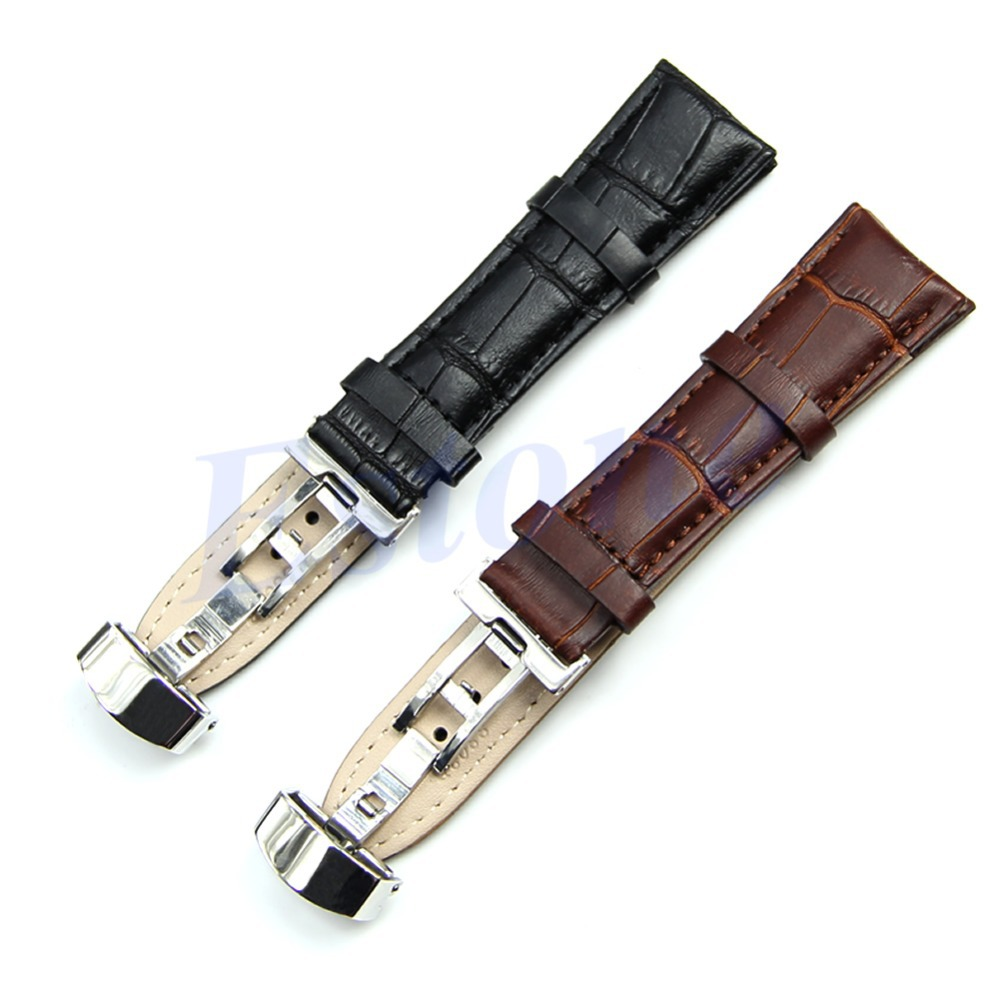 bracelet montre genuine leather