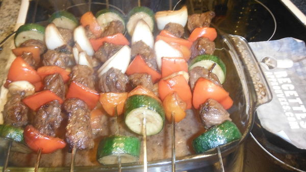 brochette au four
