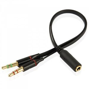 cable double jack male