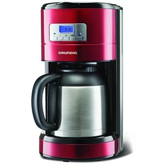cafetiere rouge programmable