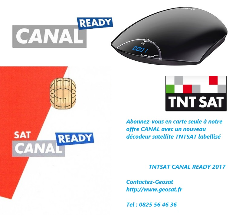 carte canal ready satellite