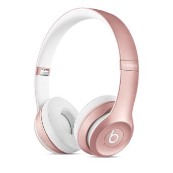 casque beats solo 2 rose