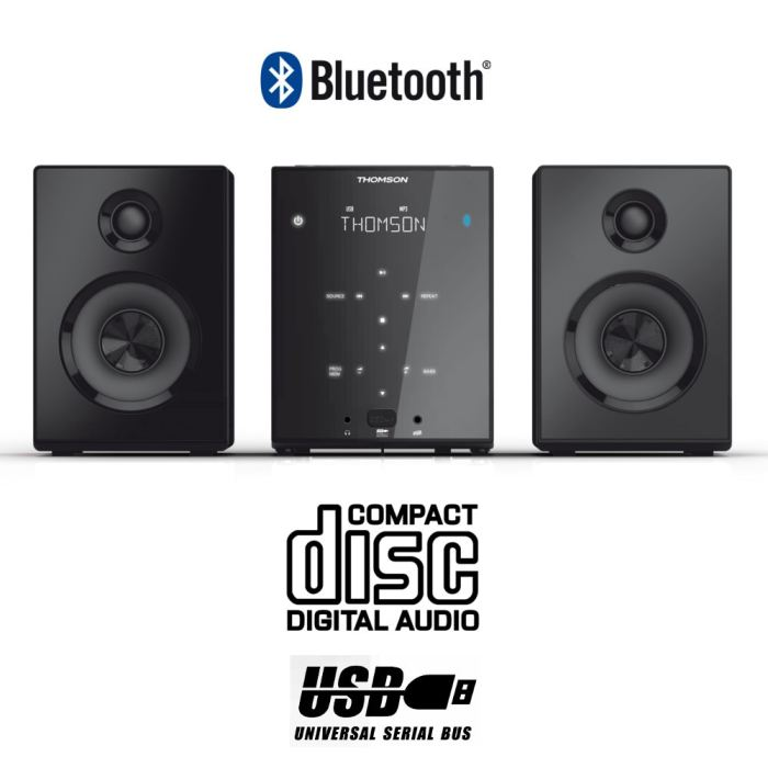 chaine hifi usb bluetooth