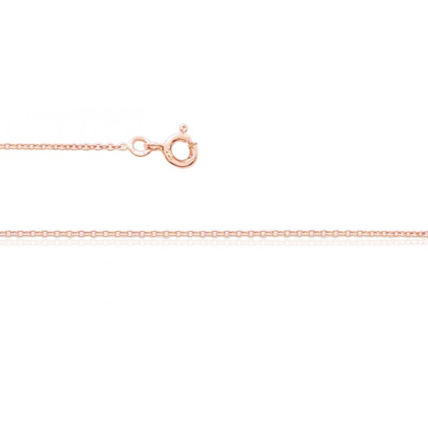 chaine or rose pour femme