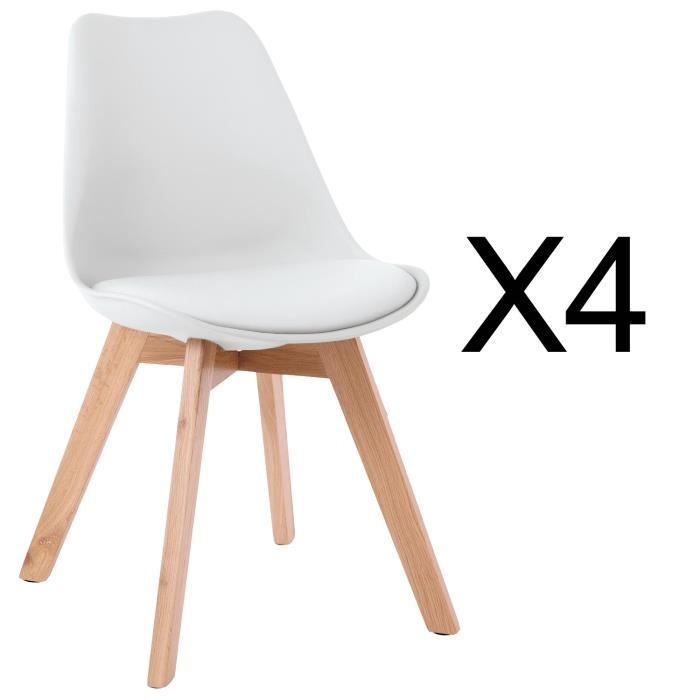 chaise type scandinave