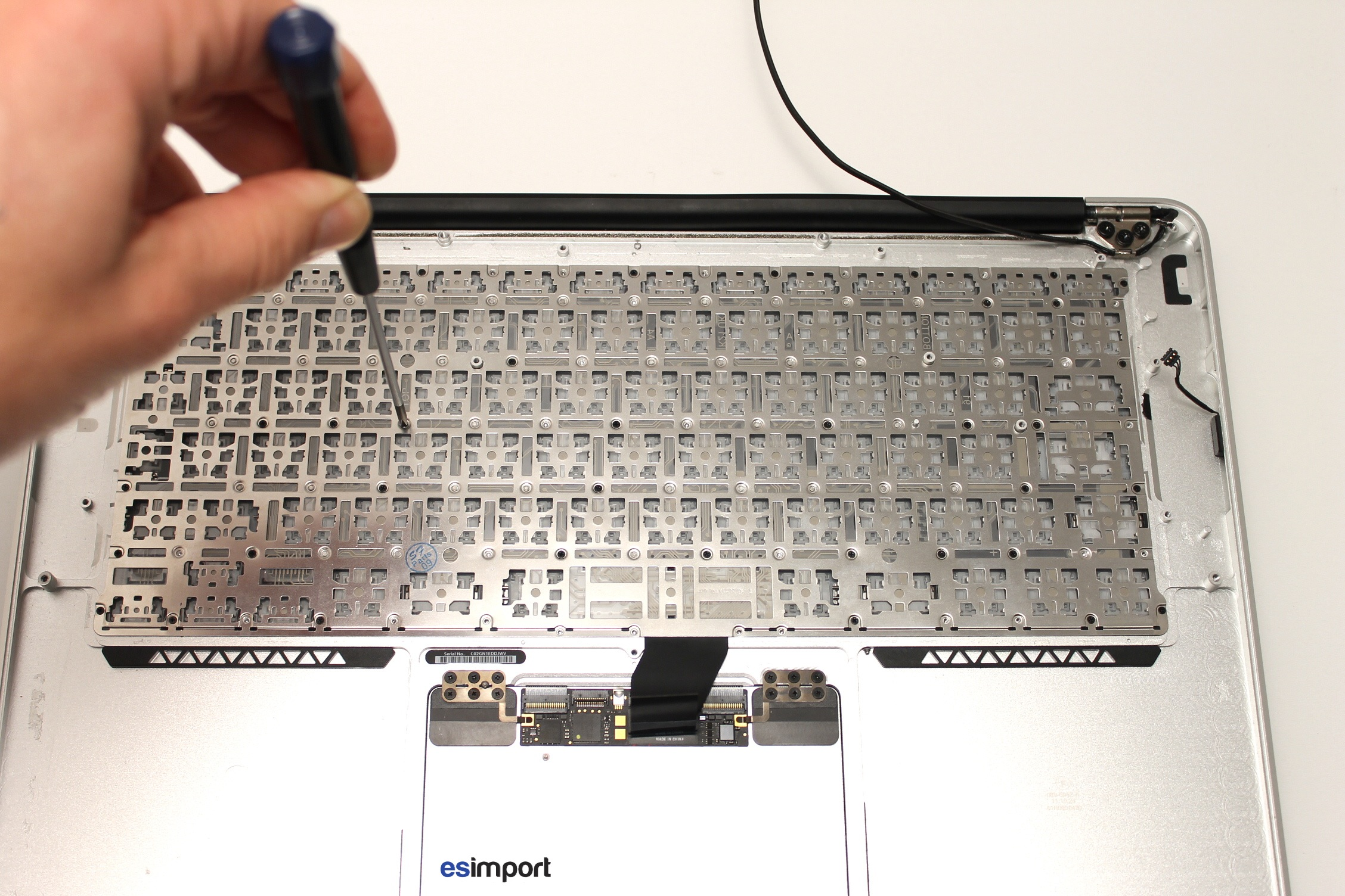 changer clavier macbook air