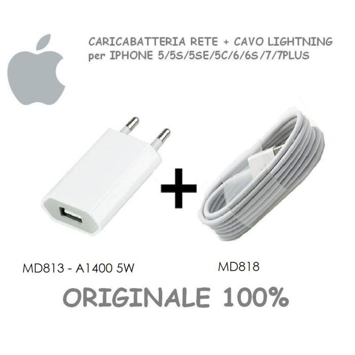 chargeur iphone 5 d origine