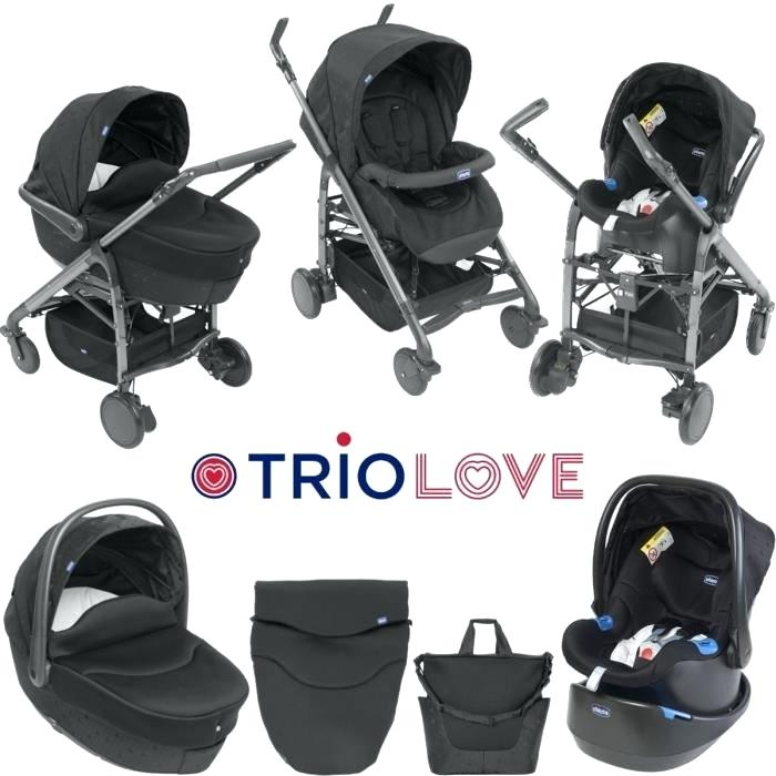 chicco trio love noir