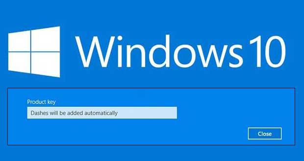 clé activation windows 10 pro