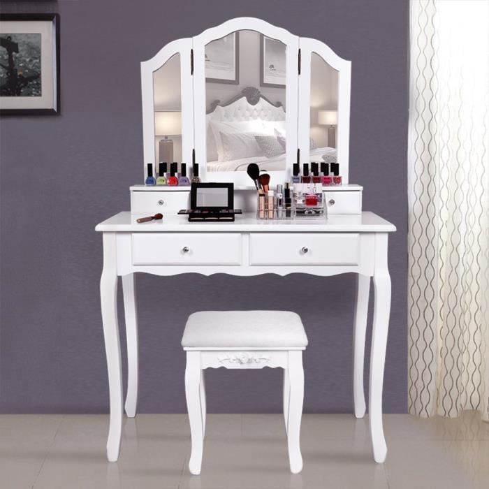 coiffeuse table de maquillage