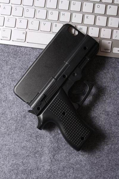 coque iphone 5c pistolet