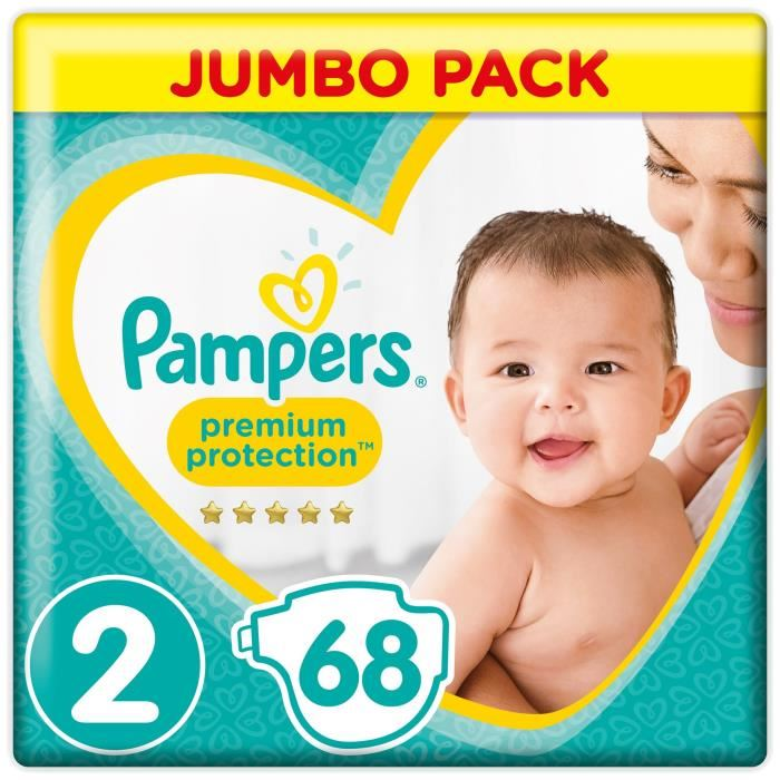 couche pampers taille 2