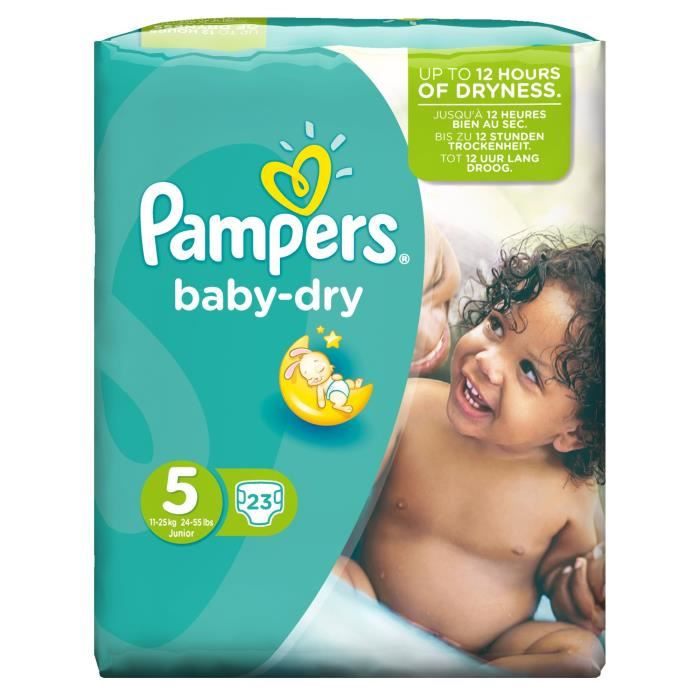 couche taille 5 pampers