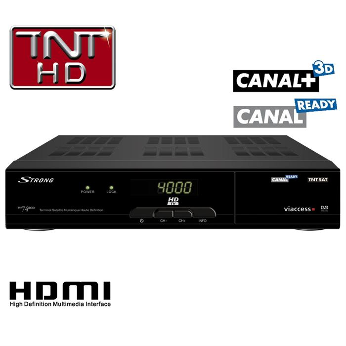 decodeur canal ready hd satellite