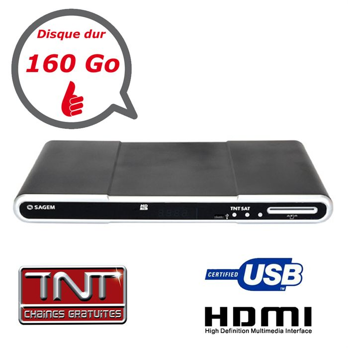 decodeur enregistreur tnt satellite astra double tuner