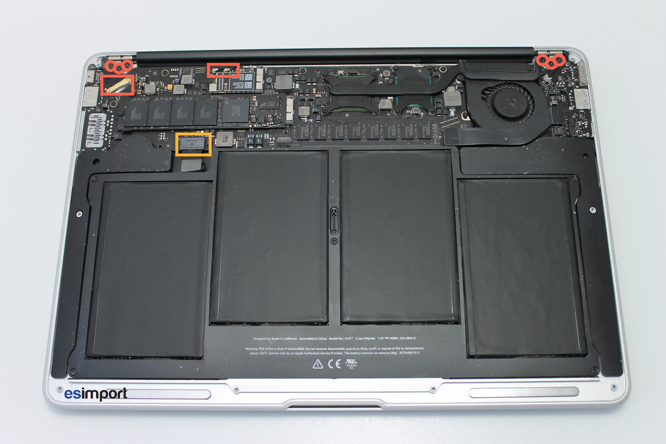 demonter macbook air