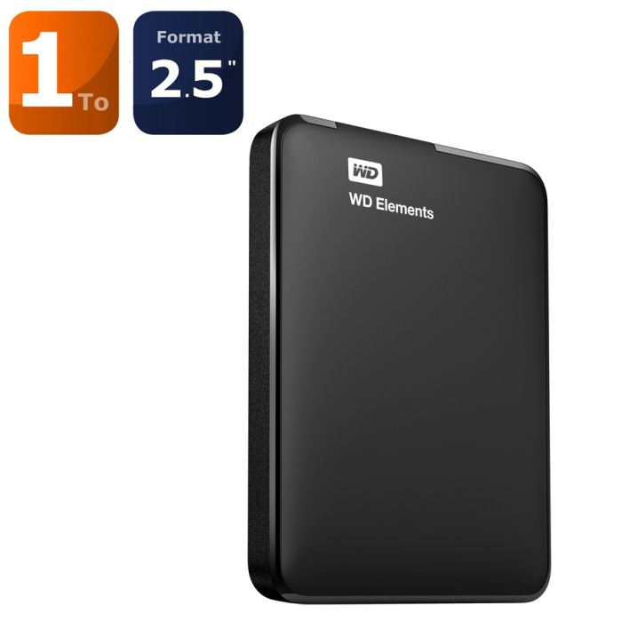 disque externe wd 1to