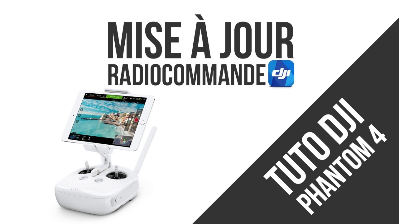 dji phantom 3 advanced mise a jour