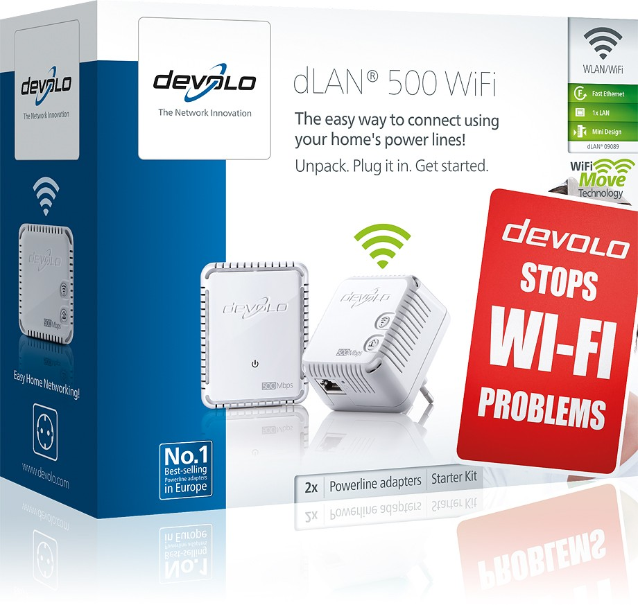 dlan 500 wifi installation