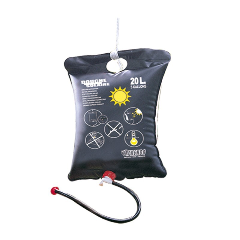 douche solaire camping 20l