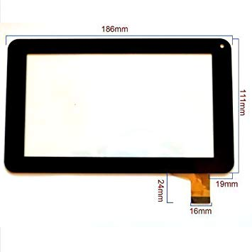ecran tactile pour tablette polaroid