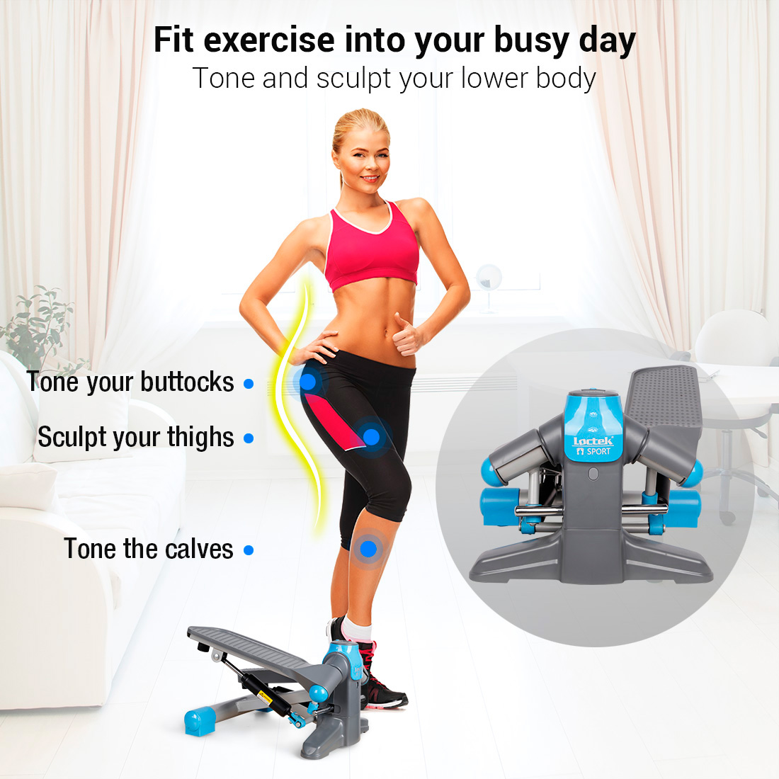 exercice mini stepper