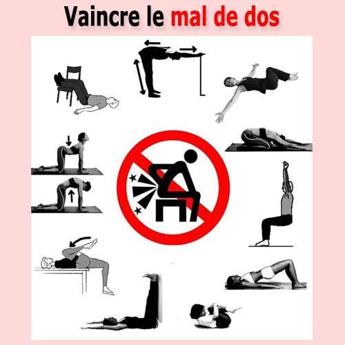 exercice pour soulager le dos
