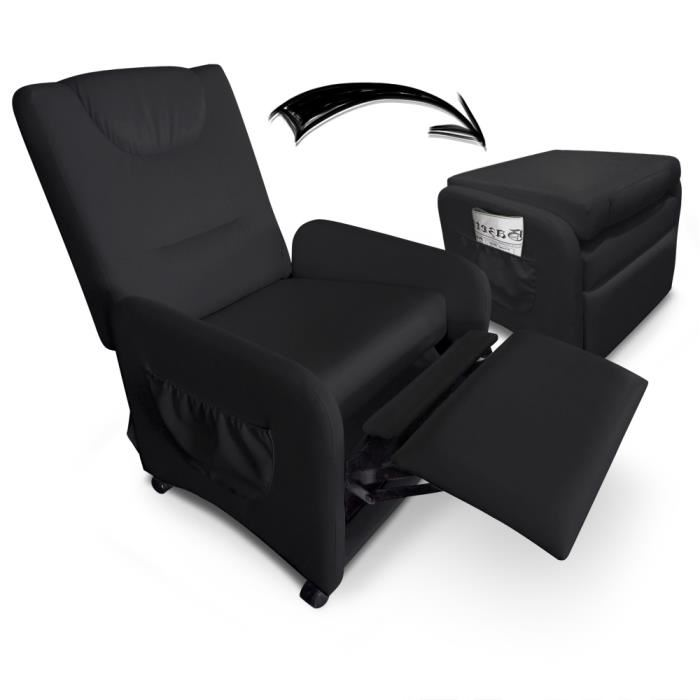 fauteuil relax pliable