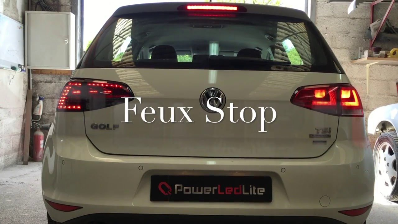 feux led golf 7