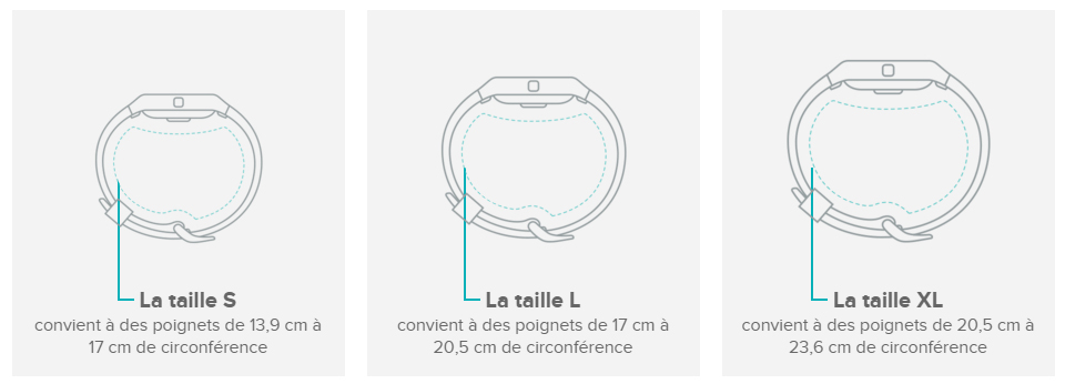 fitbit charge 2 taille