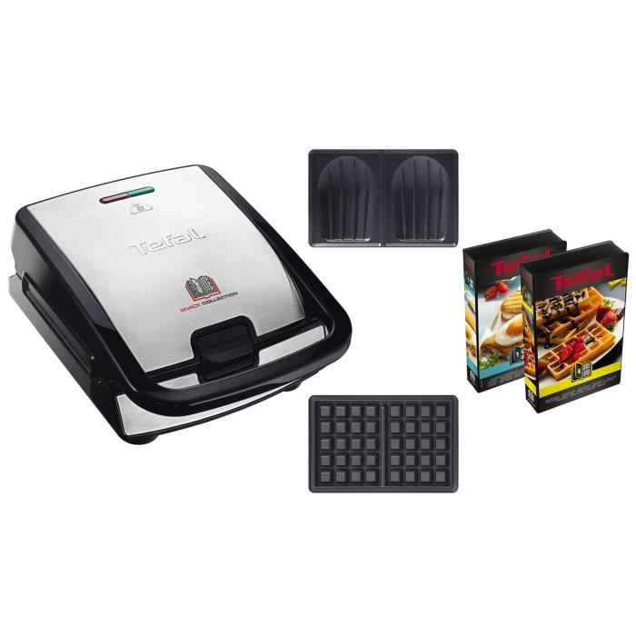 gaufrier snack collection tefal