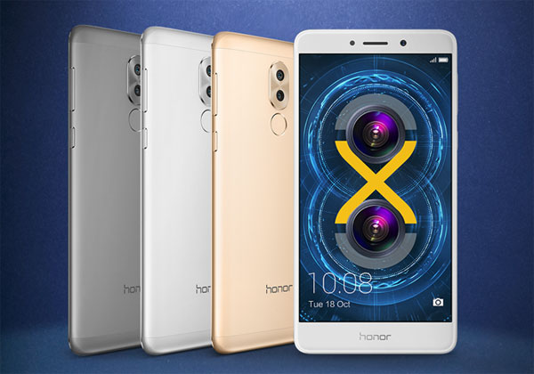 honor 6x couleur