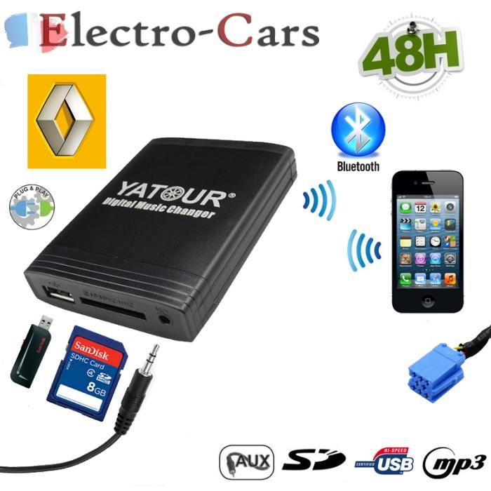 interface usb autoradio renault