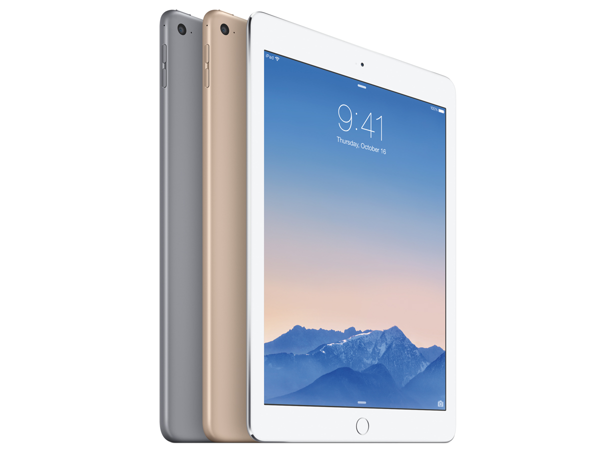 ipad air couleur