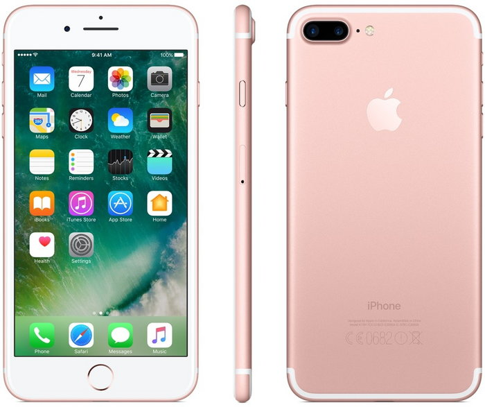 iphone 7 or rose 32go