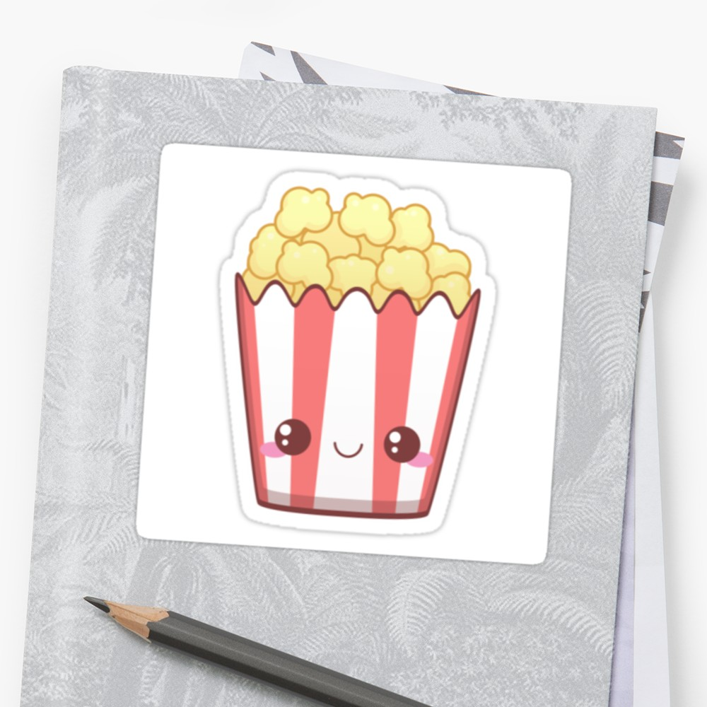 kawaii pop corn