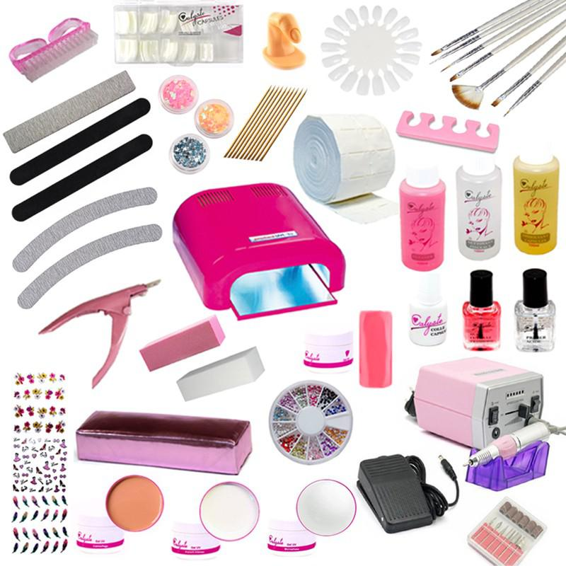 kit faux ongles professionnels