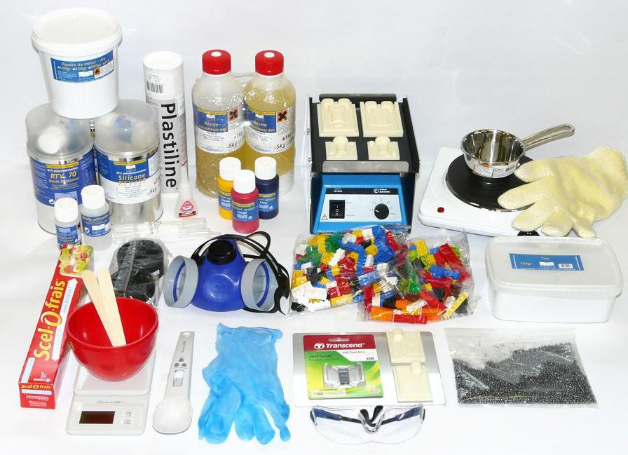 kit moulage silicone