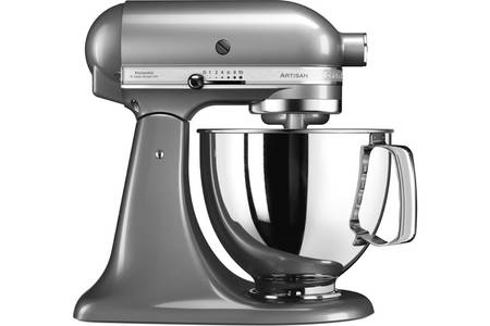kitchenaid gris argent