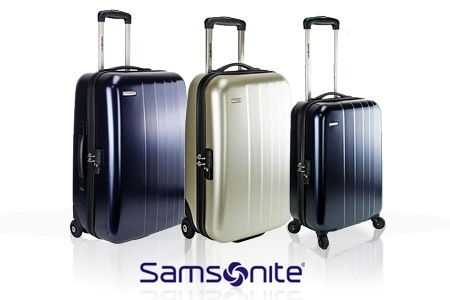 lot valise samsonite