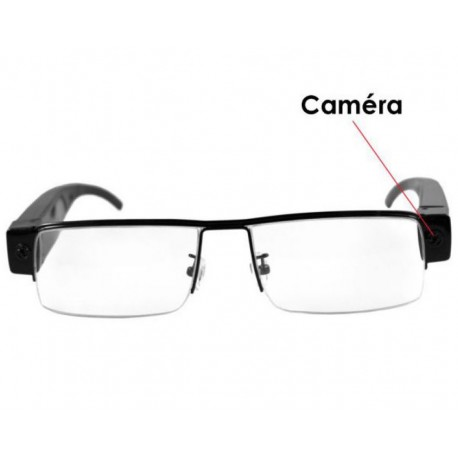 lunette camera espion hd