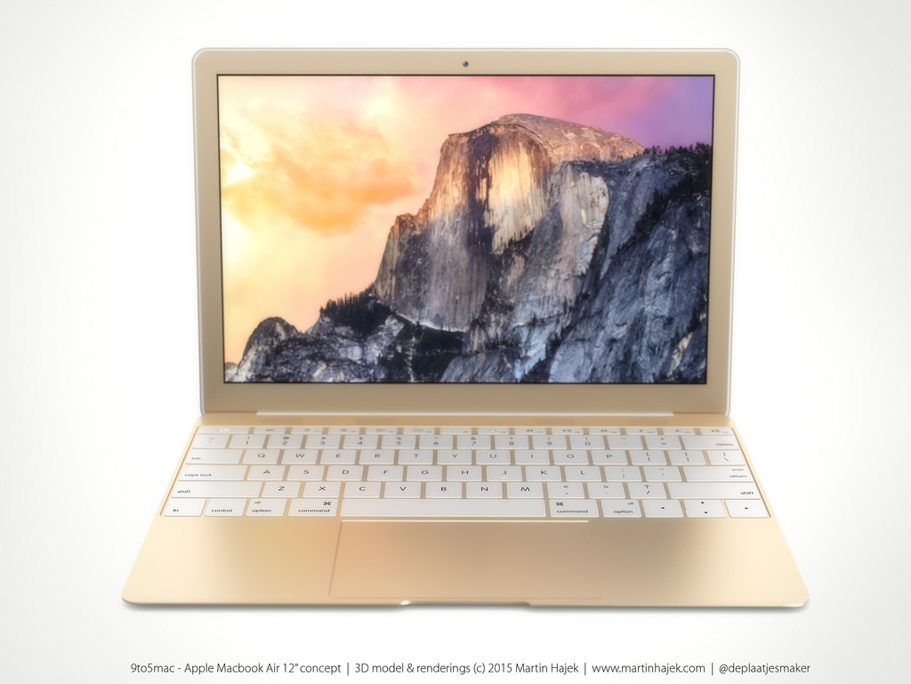 macbook air doré