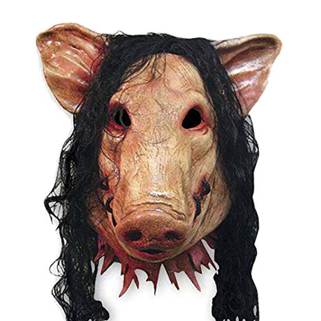 masque saw cochon