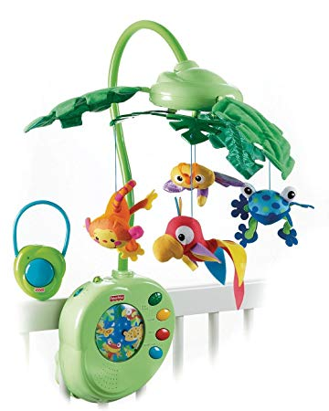 mobile fisher price jungle