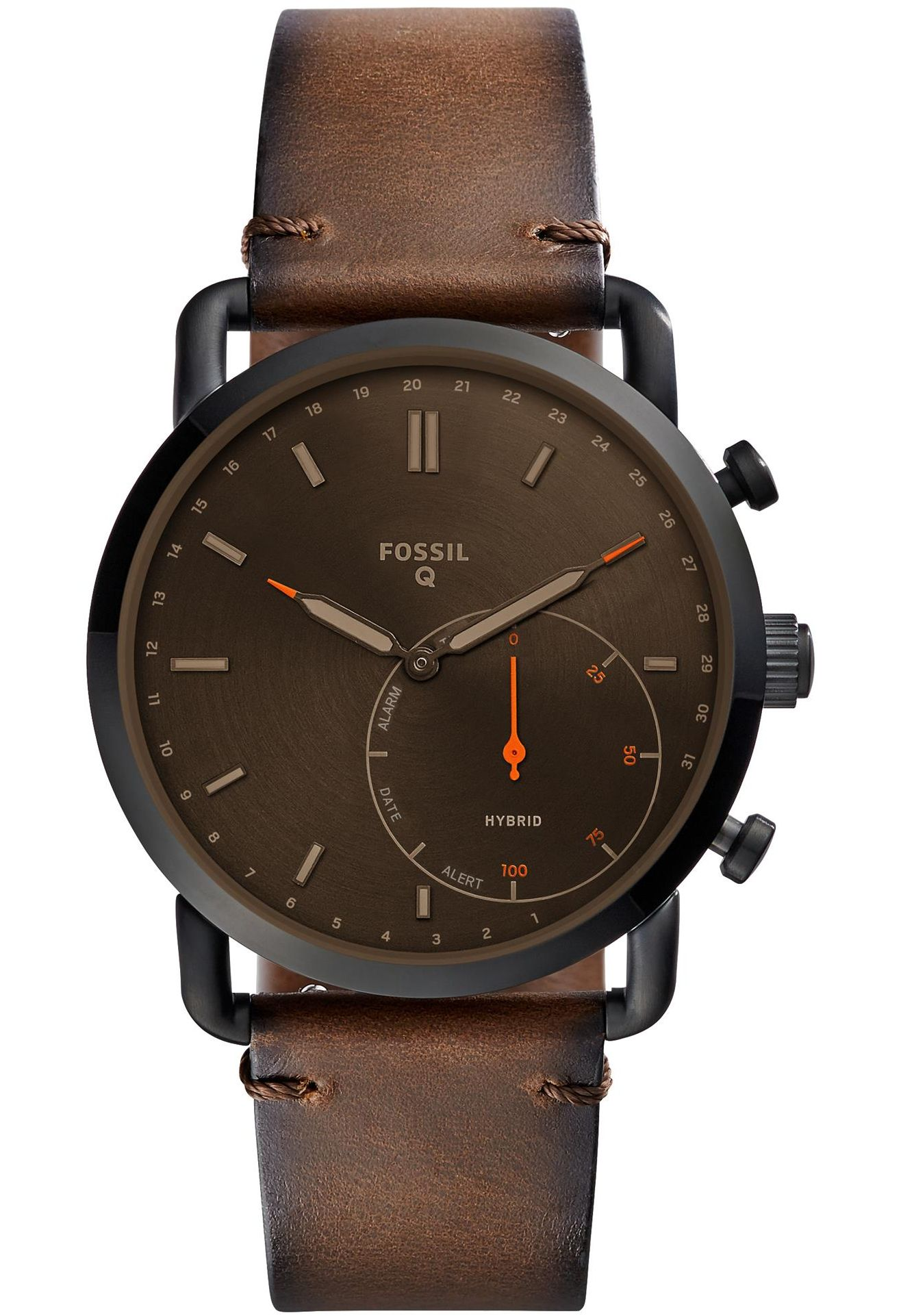 montre hybride fossil
