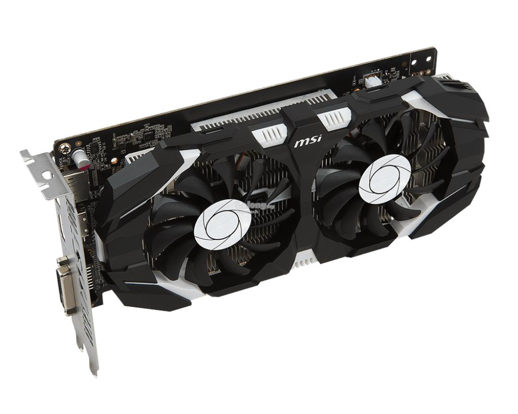 msi geforce gtx 1050 ti 4gt oc 4 go