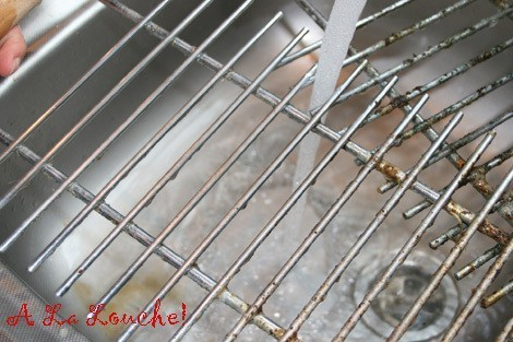 nettoyer grille four